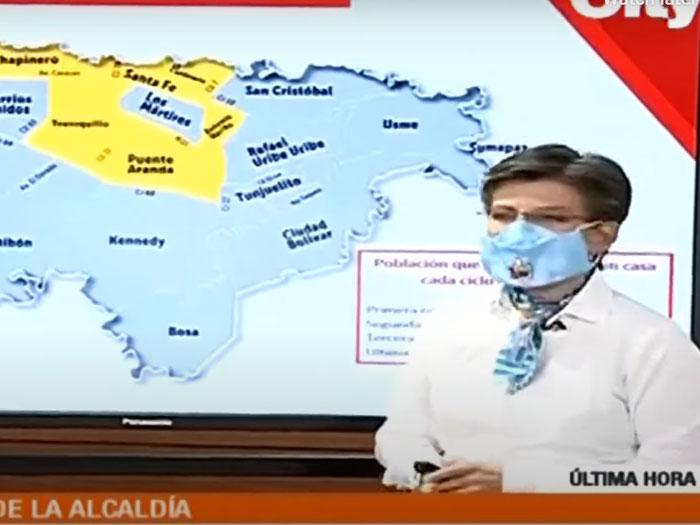 Internationale vluchten Colombia uitgesteld