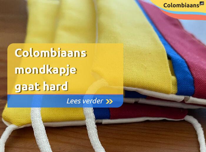 Colombiaans mondkapje gaat hard